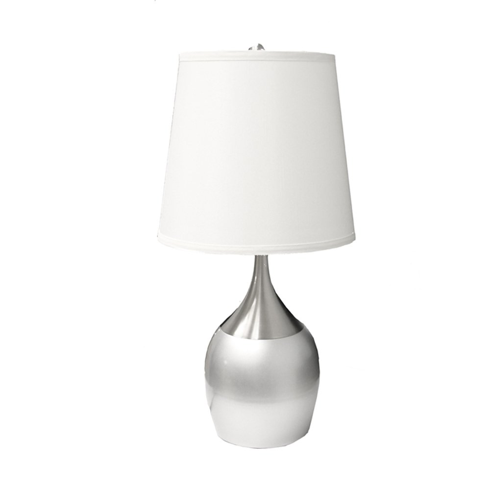 ORE International 8310SN Touch On Table Lamp, Silver   Silver Bedroom Lamps    Amazon.com