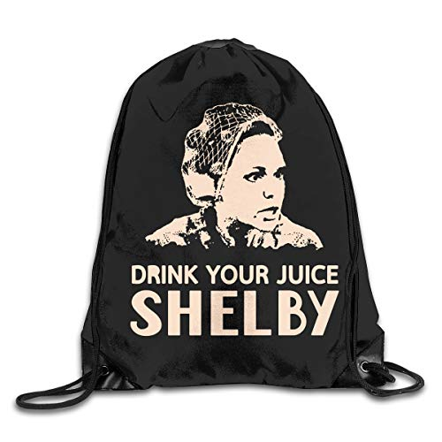 Drawstring Bag Drink Your Juice Shelby Gym Sport Bags Cinch Sacks Travel Hiking Backpack For Men - Eco Friendly Shelby