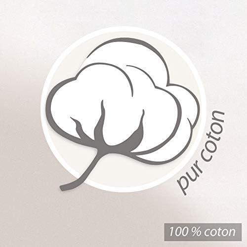 Linnea Serviette de Toilette 50x100 cm Shibori Floral Gris 100/% Coton 500 g//m2