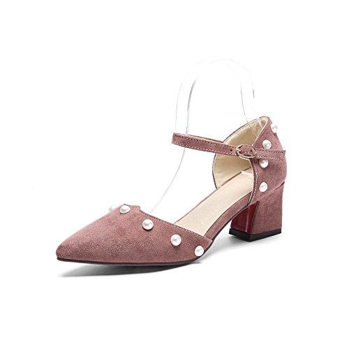 Kaldt Rosa 3 Svertefri Fôr Baguette Kvinners 5 Sandaler En Uretan Uk stil Diu00924 Yqw4xCng