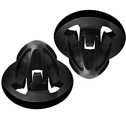 Tail Light Lamp Retainer Clip Fastener for Selected Dodge Ram Trucks - OEM Part 68084593AA - 2 Piece (Tail Light Retainer)