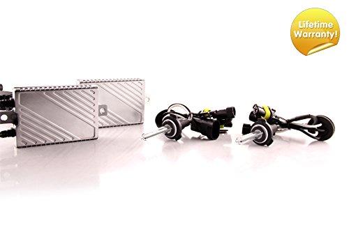 DDM Tuning Plus 35W Premium Canbus HID Kit, Slim AC Ballasts w / Hi-Output Bulbs 9005 / HB3, 5500K
