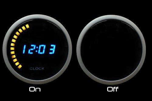 Blue Digital Clock Gauge Volt product image