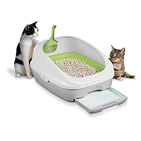 Cat Litter, Breeze, Easy Litter Box Kit System No More Mess to clean up, 1 Kit - Flush Litter Box
