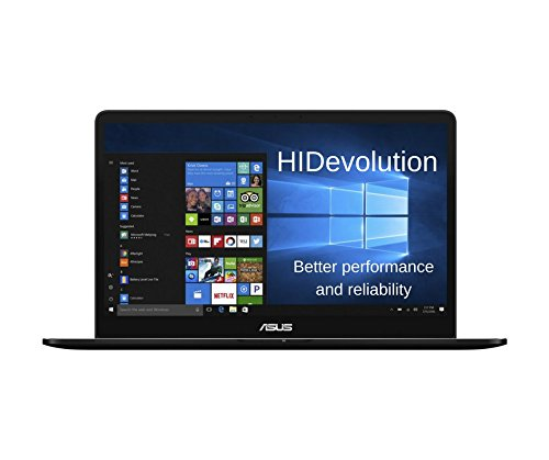 Price comparison product image HIDevolution ASUS Zenbook Pro UX550VE 15.6 inch Ultra Slim Touchscree Laptop / 2.8GHz i7-7700HQ,  16GB DDR4 RAM,  GTX 1050 Ti 4GB,  PCIe 512GB SSD,  Win 10 Home / Authorized Performance Upgrades & Warranty