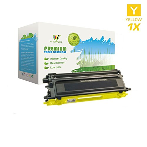 AZ Supplies © Re-Manufactured Replacement TN115Y High Yield Yellow Toner Cartridge for Brother DCP-9040CN, DCP-9045CDN, HL-4040CDN, HL-4040CN, HL-4070CDW, MFC-9440CN, MFC-9450CDN, MFC-9840CDW