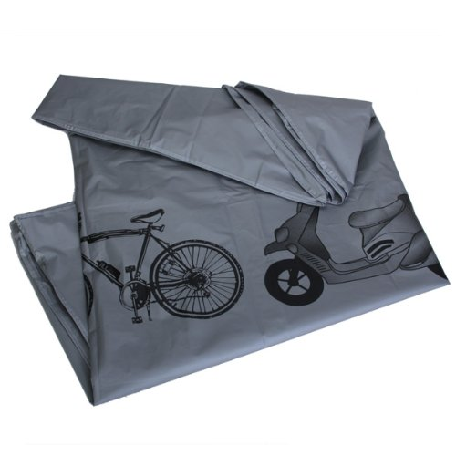 Bicycle Bike Rain Dust Snow Waterproof Cover - Grey / Easy to Fold and Unfold, Waterproof and Durable Material--suitable for Indoor and Outdoor Use
