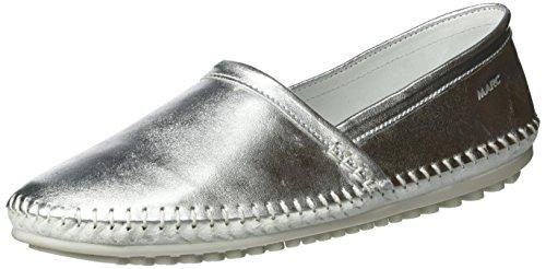 silver Basse Espadrillas Argento Marc Donna Shoes Luna qF8YUY