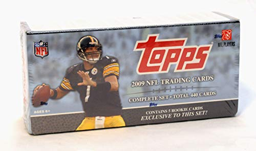 2009 Topps NFL Football Cards Complete Set