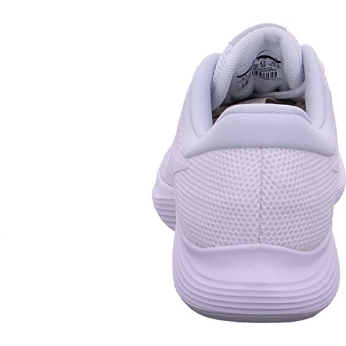 Eu Uomo 100 Bianco 4 Nike Da Scarpe Platinum white Basse Ginnastica Revolution pure qCEwHBR6