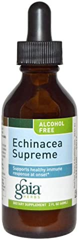 Gaia Herbs – Echinacea Supreme Alcohol-Free 2 oz [Health and Beauty]