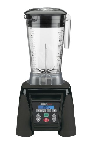 Waring Commercial MX1300XTX Xtreme Reprogrammable Hi-Power Blender with Raptor Copolyester Container, 64-Ounce