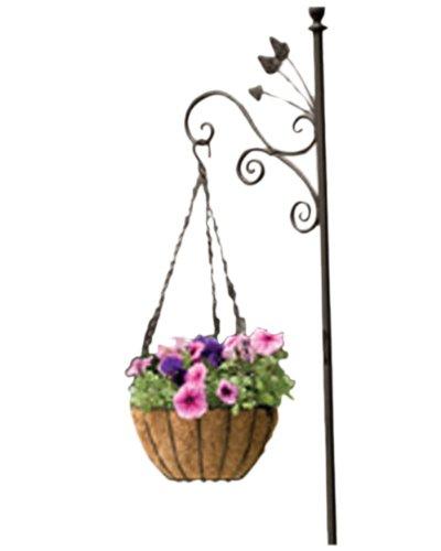 - Panacea 88506 Growers Series Hanging Basket, Green, 16-Inch