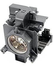 Original 610-346-9607 / POA-LMP136 Replacement Projector Lamp NSHA330W Bulb with Housing for Eiki LC-WUL100AL LC-WUL100A LC-WXL200A LC-WXL200AL LC-XL200A Projectors