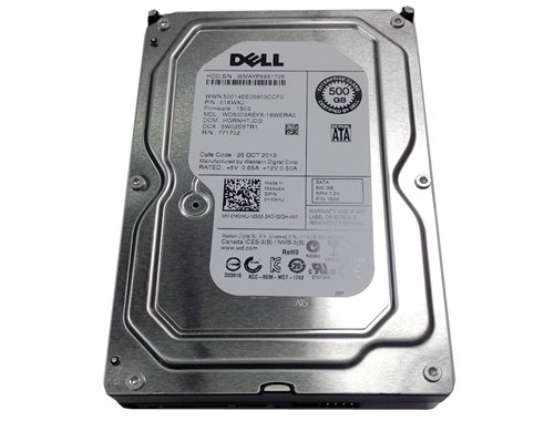 Click to buy Dell Replacement 500GB 7200RPM 3.5