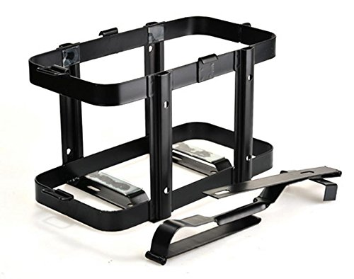Lantusi Gas Can Holder Fuel Oil Tank Mount Bracket Rack 20L/5 Gallon For Jeep Toyota Ford Chevy Dodge Universal(US STOCK)