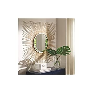Signature Design by Ashley A8010124 Elspeth Accent Mirror, Gold