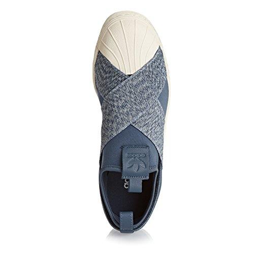 Adidas Superstar Slipon W - S76410 Bianco-grigio