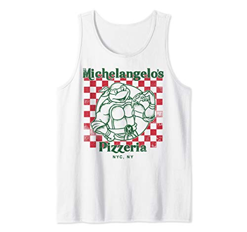 Nickelodeon Teenage Mutant Ninja Turtles Mikeys Yummy Pizza  Tank Top ()