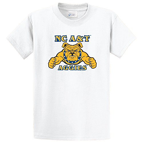 Campus Merchandise NCAA North Carolina A&T Aggies Short Sleeve Tee, X-Large, ()