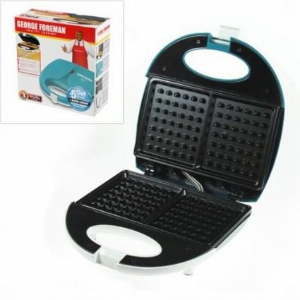george-foreman-waffle-maker-blueberry