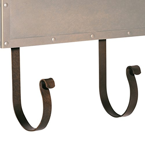 Americas Finest Lighting AF-MR-TB Magazine Rack for Wall Mount Mailbox44; Textured Black from Americas Finest Lighting
