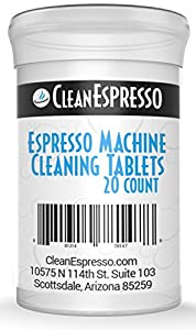 Espresso Machine Cleaning Tablets - CleanEspresso Model BO-020 - For Bosch Espresso Machines from CleanEspresso