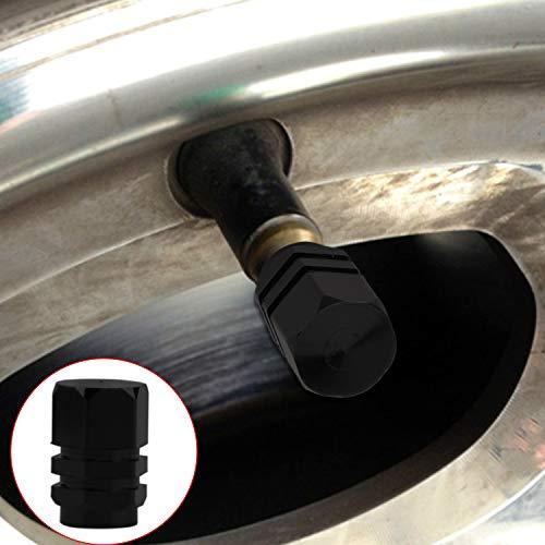 YIKEF 2pcs Goma Gato Hidraulico Bloque de Goma Universal Protector para Elevador Coche Negro