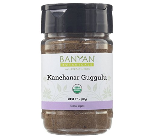 Banyan Botanicals Kanchanar Guggulu - USDA Organic Spice Jar- Energizing Ayurvedic Herbs for Thyroid & Lymphatic Wellness* by Banyan Botanicals