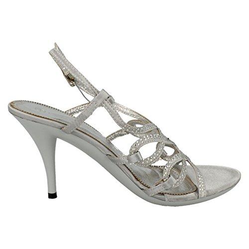 Spot On , Damen Sandalen Silber