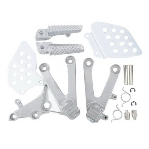 Aluminum Front Rider Footrest Foot Pegs Bracket For HONDA CBR 600RR 2007-2014 (Honda Shadow Front Fender compare prices)