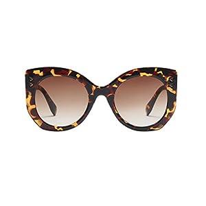Sunglasses,YJYDADA Women Vintage Big Frame Sunglasses Retro Eyewear Fashion Ladies Man (B)
