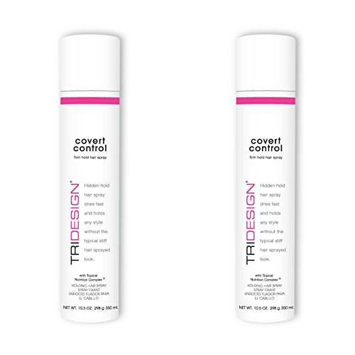 TRI Covert Control Holding Hair Spray 10.5 oz. – 2 Pack