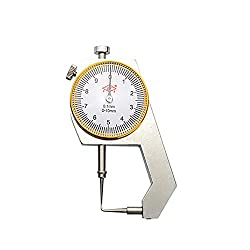 LANTAO 1pc Dental Caliper Thickness Gauge 0-100.1mm Caliper with Metal Watch Measuring Thickness Dental Lab Equipments Dentist Tools
