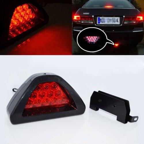 Universel Style F112LED Rouge feu arrière Troisième Arrêt de frein de sécurité lampe de voiture LILAUTO