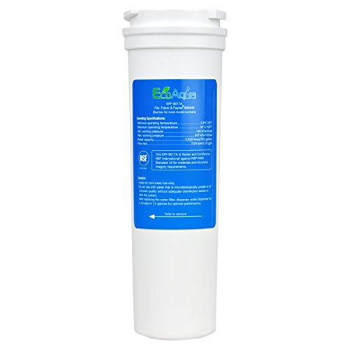 EcoAqua EFF-6017A Replacement for Fisher & Paykel 836848 Refrigerator Water Filter
