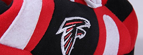 Officially Atlanta Nfl Mens Comfy Falcons Feet Licensed Slippers Womens Sneaker And Happy wvxqEqfOC