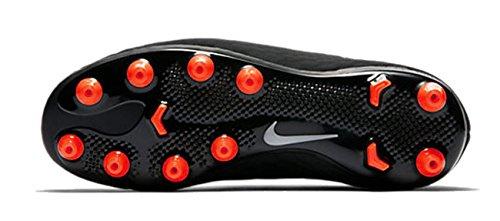 Nike Hyper Venom Phelon III agpro–Black/metallic silver de Black de a, negro/plateado, 13 negro/plateado