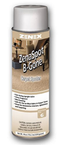Zenex ZenaSpot B' Gone Carpet Cleaner - 12 Cans (Case) by ZENEX International (Image #1)