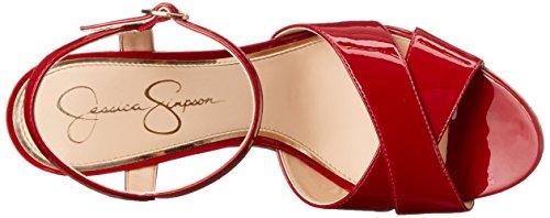 Sandal Wedge Women's Lipstick Isadoraa Jessica Simpson WxqBAgTnw8