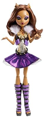 Monster High Its Alive Clawdeen Wolf Doll by Mattel