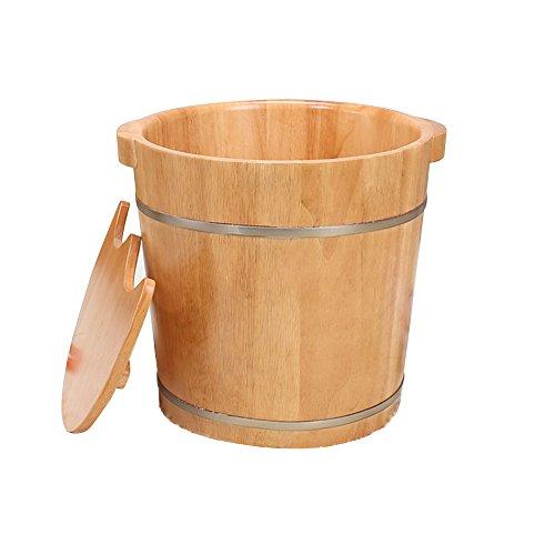GYP フットバス、木製のフット洗面器フットバスバレルフットマッサージフット洗面器カバーフットタブ38 38*38cm* 38センチメートル 38センチメートル ( サイズ さいず さいず : 38*38cm ) B077P67HD7, ナカジマチョウ:029af888 --- 2chmatome2.site