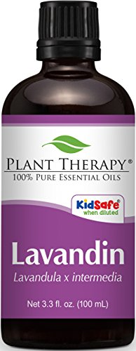 France Lime Basil - Plant Therapy Lavandin Essential Oil 100 mL (3.3 oz) 100% Pure, Undiluted, Therapeutic Grade