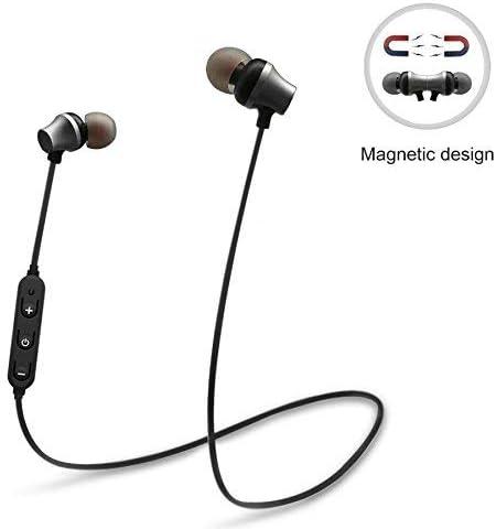 Headset Deportes en la Oreja, Auricular magnético del bajo de Bluetooth del Deporte para el teléfono inalámbrico con los Auriculares inalámbricos de Mic, teléfono Universal, Auriculares de la música: Amazon.es: Deportes y