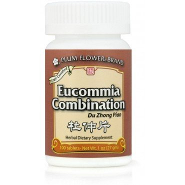 Eucommia Combination (Du Zhong Pian), 100 ct, Plum Flower - Combination Eucommia