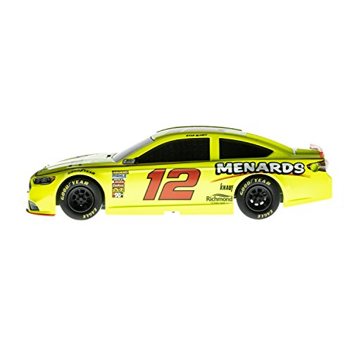(Lionel Racing Nascar Authentics 2018 Ryan Blaney #12 Menards Diecast, Yellow, Black, Red, White, 1: 24 Scale)