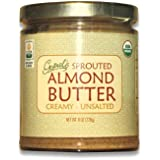 Gopal's Raw Organic Sprouted Almond Butter 8oz