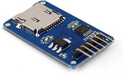 Tarjeta de expansión Secure Digital Memory Card Tarjeta de Memoria TF Card SPI Tarjeta de expansión Micro-SD para módulo Arduino: Amazon.es: Electrónica