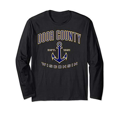 Long Sleeve Doors - Door County Long Sleeve Shirts for Women & Men