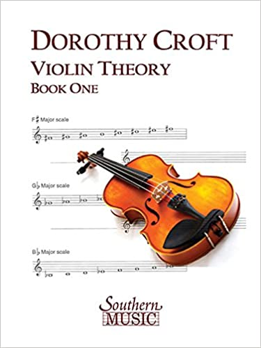 Amazon.com: Violin Theory, Book One () (9781581060683): Dorothy ...